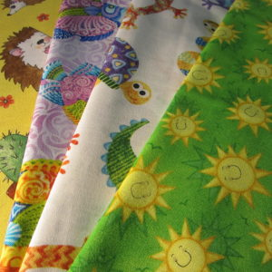 Great Prints Ready to Ship Spaceline Cot Sheets